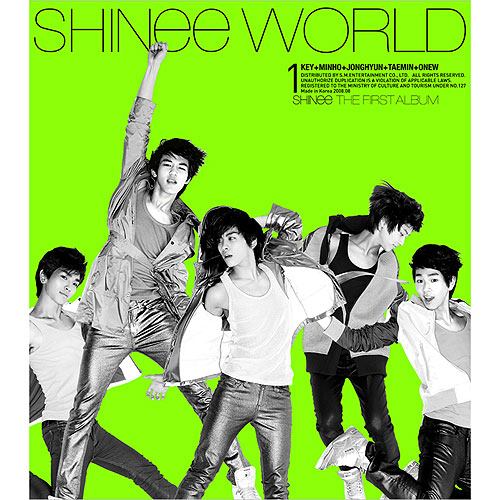 shinee - shinee world version A