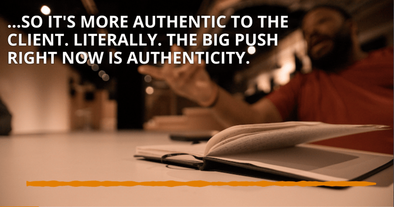 Authenticity and Content Creation