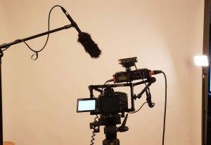 image of camera set up