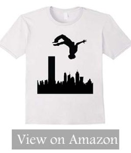 Parkour Shirt Parkour Adult T-Shirt Men's Parkour T-Shirt