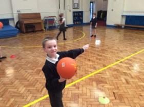 Netball in Class 3C
