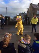 Pudsey comes to school!