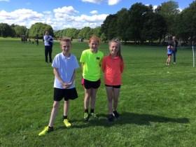 More Running Success in Park