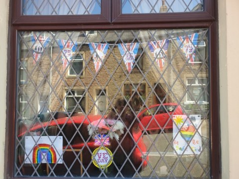 Hannah's VE Day bunting