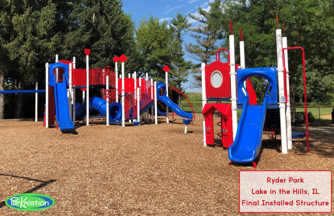 Installed Play Structure