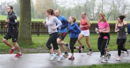 Leading the pack on a wet day - Huddersfield (28)
