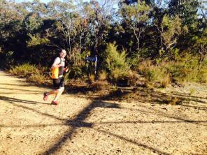 Tackling the trail in the scrub - Lawson (44)