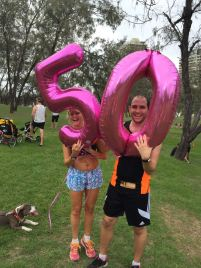Balloons for the 50 Clubbers - Main Beach (50)