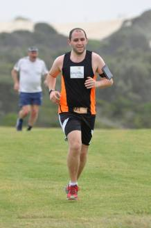 Coming into the Finish Line at the hardest parkrun I've done! - Cronulla (46)