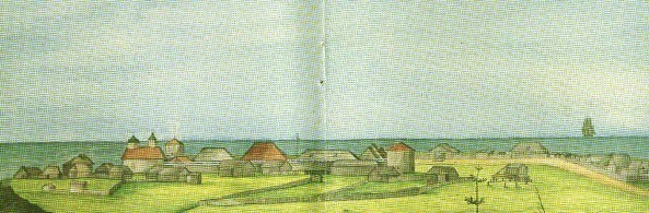 Fort Ross watercolor