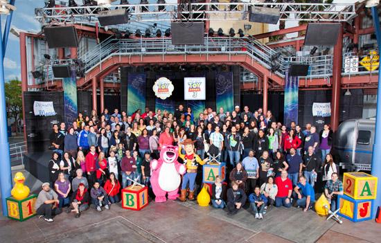 Toy Story Mania! Meet-Up at the Disneyland Resort