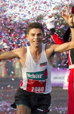 Men's Marathon Winner: Fredison Costa of Brazil