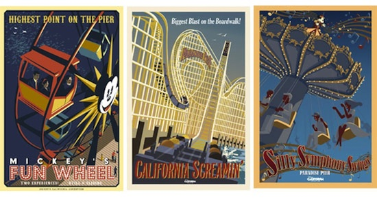 New Attraction Posters Paint a Fresh Vision of Paradise Pier