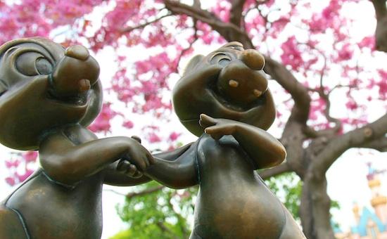 Springtime in Disneyland Park By Paul Hiffmeyer