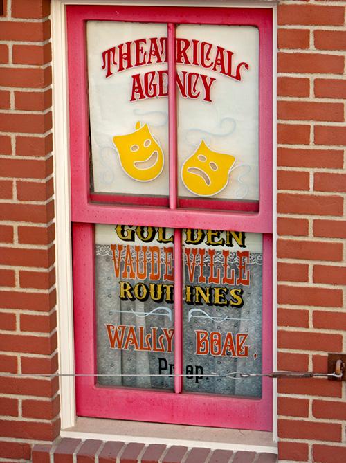Wally Boag's Window on Main Street, U.S.A.