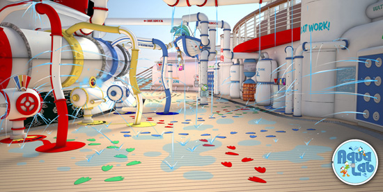AquaLab, A New Addition to Deck 12 on the Disney Fantasy