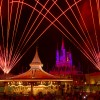 Disney Parks After Dark Featuring Fireworks at the Castle