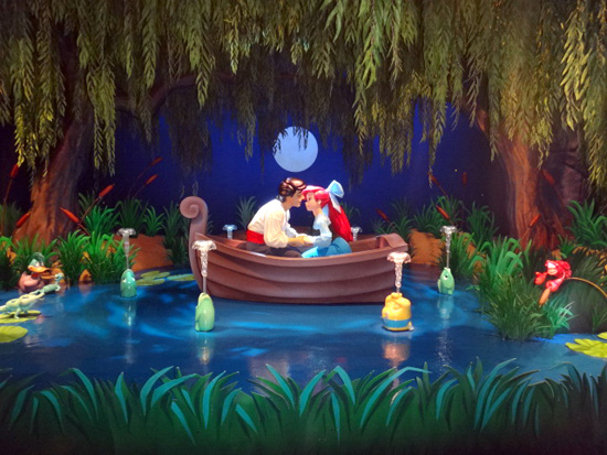A Scene in Under the Sea ~ Journey of The Little Mermaid at Magic Kingdom Park