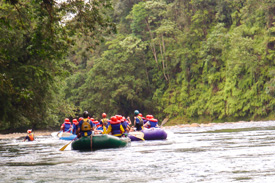 Exploring Costa Rica with Adventures by Disney, Featuring White Water Rafting