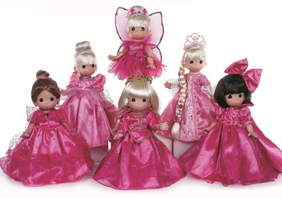 The Sweetheart Collection from Precious Moments Doll Maker Linda Rick