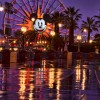 Rainy Day Reflections at Disney California Adventure Park