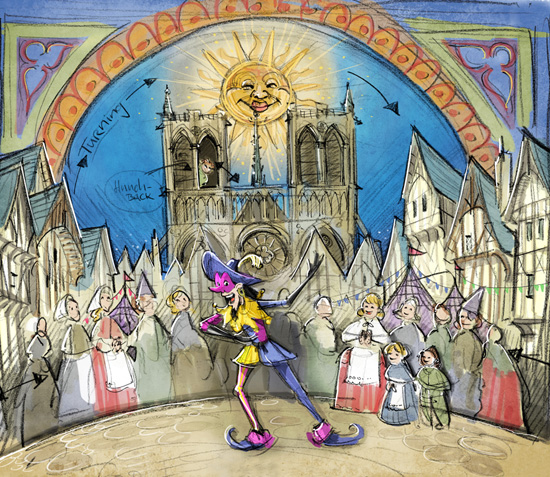 Clopin's Music Box Adds to Old-World Charm of Fantasy Faire at Disneyland Park