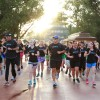 Jeff Galloway-led group on run that included Epcot's World Showcase.