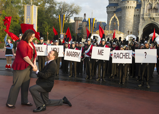A Proposal in Perfect Harmony at Walt Disney World Resort