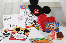 Mickey's Valentine Surprise from Disney Floral & Gifts Makes the Memory of a Lifetime for Your Little Valentine at Walt Disney World Resort