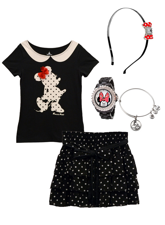 Disney Style Snapshots: A Minnie-Inspired Look
