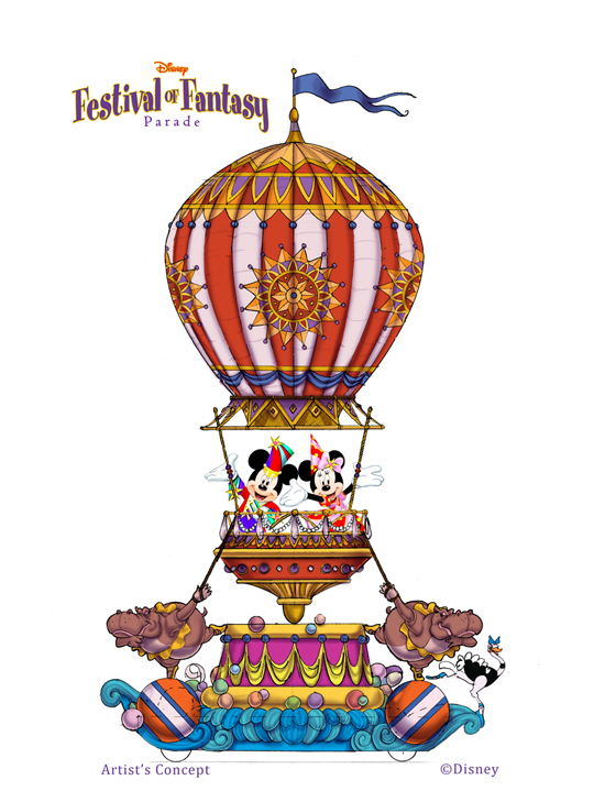 Disney Festival of Fantasy Parade Coming to Magic Kingdom Park in 2014