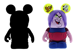 Madame Mim Vinylmation from 13 Reflections of Evil Trading Event at Epcot