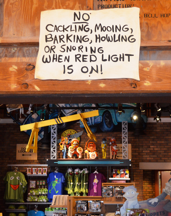Can You Finish This Sign from Stage 1 Company Store at Disney's Hollywood Studios?