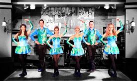 Irish Dancers at Raglan Road at Downtown Disney