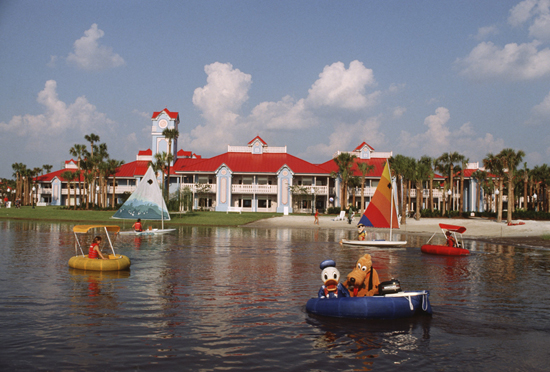 Caption This: Donald & Pluto Have a Blast at Disney's Caribbean Beach Resort at Walt Disney World Resort