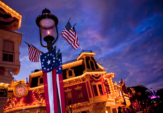 Happy Independence Day from Disneyland Park