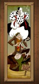 Cruella De Vil Takes on a Famous Role in The Haunted Mansion