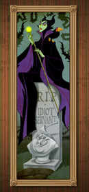 Maleficent Takes on a Famous Role in The Haunted Mansion