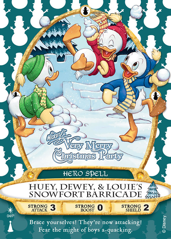 Huey, Dewey and Louie Sorcerers of the Magic Kingdom Card To Be Released at Mickey's Very Merry Christmas Party
