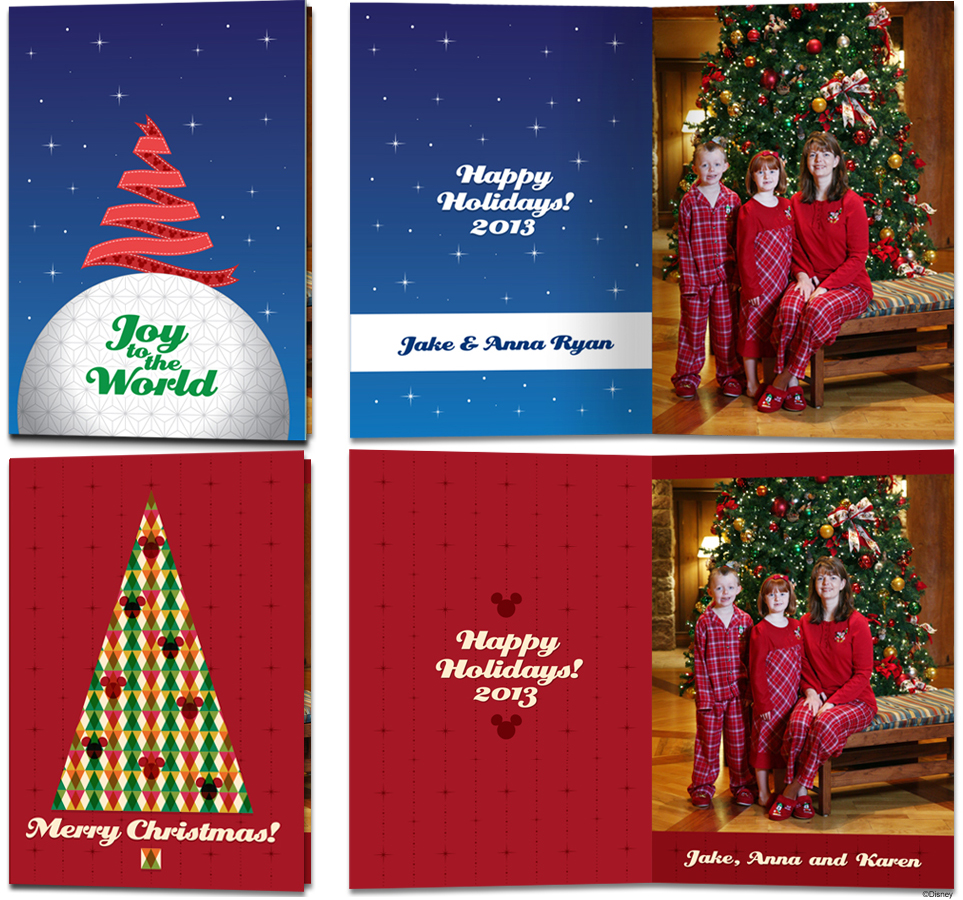 Create Memories With Exclusive Disney Christmas Cards
