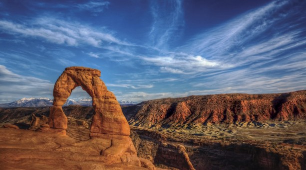 Arch in Arches National Park