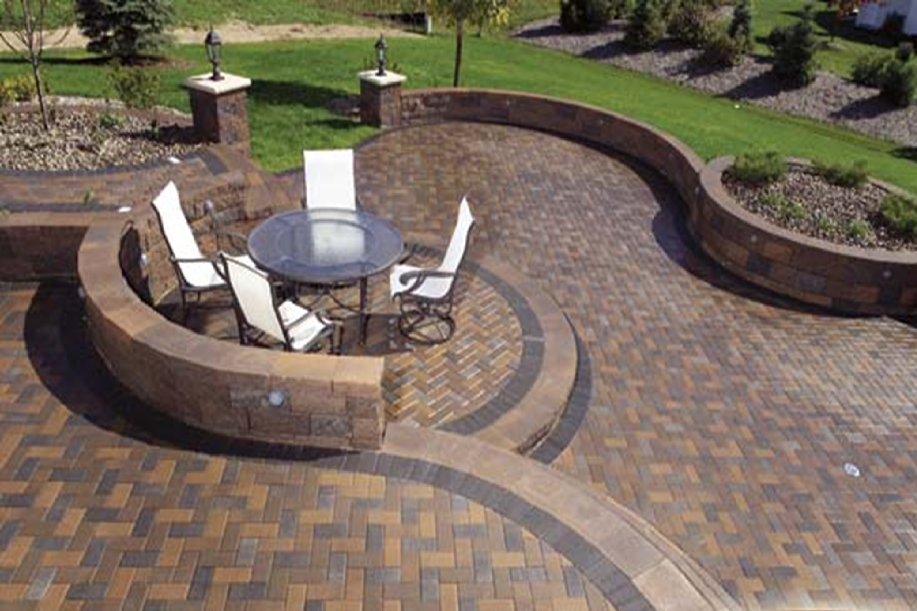 Parkside Pavers Tampa, St. Pete, Clearwater: Paver Designs ... on Patio Paver Design Ideas id=40710