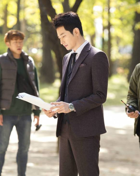 Park Sihoo My Golden Life on location
