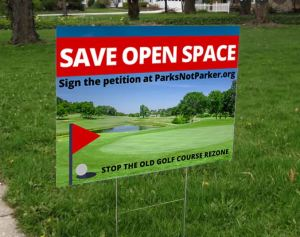 SAVE OPEN SPACE SIGN