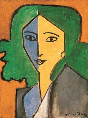 Henri Matisse. 1869–1954, Portrait of Lydia Delectorskaya, 1947. Oil on canvas, 64.5 x 49.5 cm. The State Hermitage Museum, Saint-Petersburg.