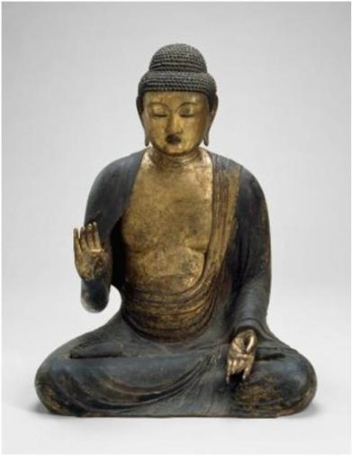 Shaka, der Historische Buddha. Japan (12. Jhd.). Museum of Fine Arts, Boston.