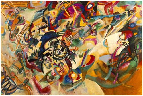 Wassily Kandinsky: Das jüngste Gericht/Komposition V, 1911. Privatbesitz.