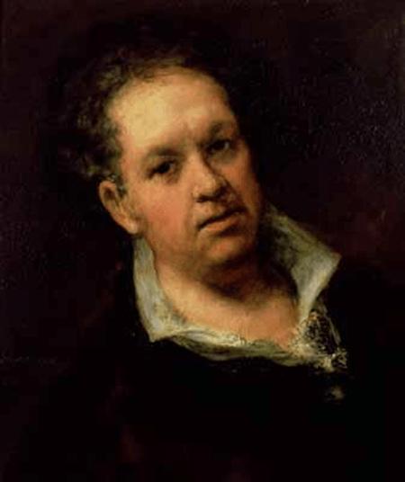 Goya, Autorretrato, 1815.