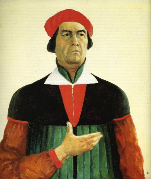 Kazimir Malevich, Self-Portrait, 1933.