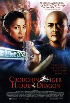 Crouching Tiger, Hidden Dragon, 2000. Theatrical release poster.